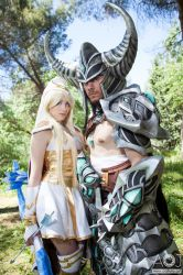 Ashe and Tryndamere - League of Legends by NunnallyLol