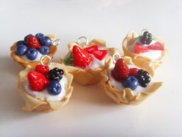 Filo Pastry Tart Charms by tyney123