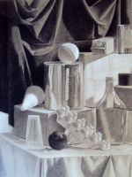 Charcoal Still Life by Esquire21