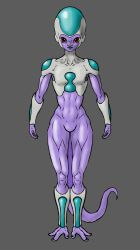 Ice Jinn female final (true) form concept by Tuinor