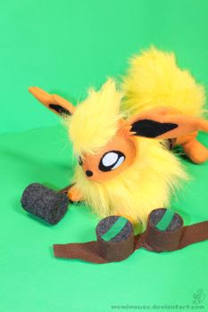 My Flareon Dressed as the Forge Master (Pic 2) by MeMiMouse