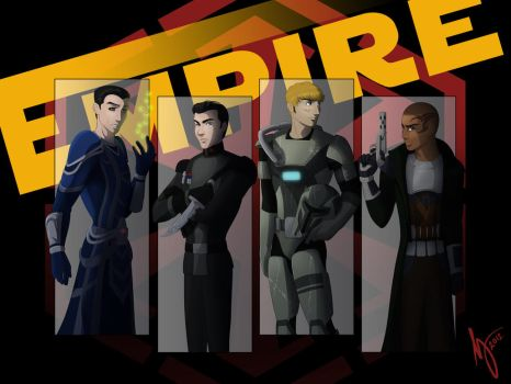 SWTOR: Imperial Boys by Maloneyberry