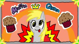 Derpy Hooves - The Muffin Queen by Eternalshadow64