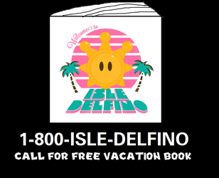 The Isle Delfino Vacation Book Infomercial by MikeJEddyNSGamer89