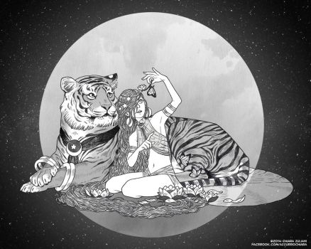 Tigre Luna by AnimaProject