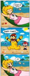 Bowser's Beach Badness by Gabasonian