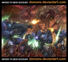 Starcraft Illustration by dannlord