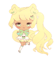 C: Crayon Chibi for Sugah-Bee by Madinne