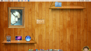 Desktop  wall_with frame by veeradesigns