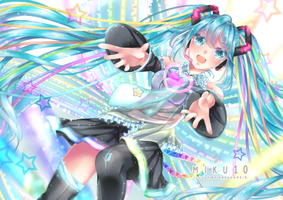 Fan Art : Miku10 by KazugaMei5