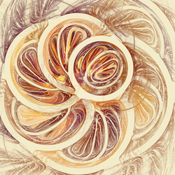 Abstract 78 Earth Tones by RJohnstone