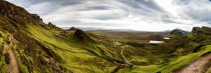 Quiraing Panorama by Crabinoid