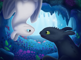 Hidden Beauty (HTTYD3 Fanart) by Tailster