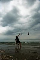 Kiteboarding 1 by raduuuuu