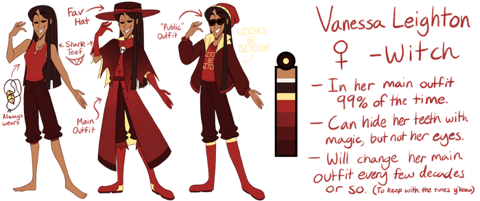 Vanessa [Reference] by TheZodiacLord