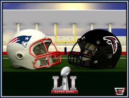 Super Bowl LI- Patriots vs. Falcons by ImfamousE