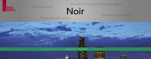 Noir for Rainmeter [v1.1 | 5/May/2014] by Redsaph