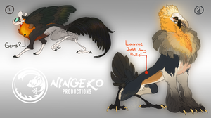 Griffon Batch 1= 72hr AUCTION (CLOSED) by NinGeko
