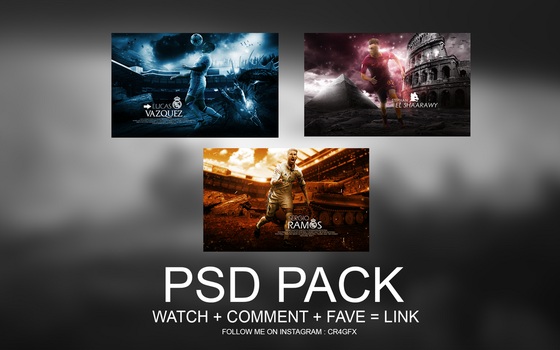 PSD Pack by ChrisRamos4 by ChrisRamos4