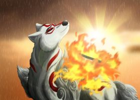 Ammy In The Rain by MegBeth