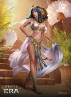 Cleopatra by Grafit-art