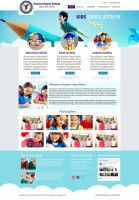 Hoxton School website design kot addu by pakiboy