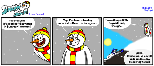 Snow Sam Comic 85 by BluebottleFlyer