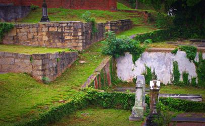 Rose Hill Cemetery I by Calypso1977