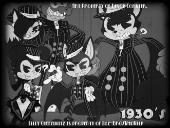 1930's - Rough-M'-Up Gang by PlayboyVampire