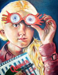 Luna Lovegood from Harry Potter by ckrickett