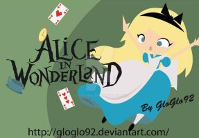 Alice in Wonderland Vector by GloGlo92