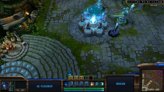 ArcaneWater - League of Legends Overlay by Renacac