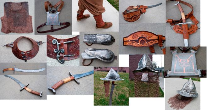 Armour Set Pieces by CanadianViscount