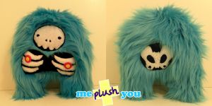 ME PLUSH YOU- Skeleyeti by loveandasandwich