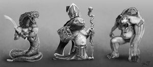 Miniature Designs by MikePerryArt