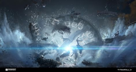 Titanfall - The Fold Weapon Explosion by 2buiArt