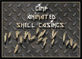 Gimp Animated Shell Casings by Geosammy