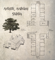 Artistik Arabians Stables Barn Layout by ReQuay