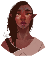 ashanna lavellan by TheTurkster