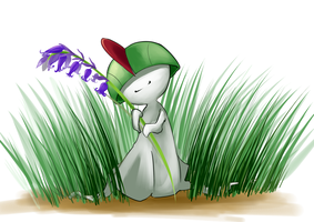 DAY 14 Ralts by stellarknight3