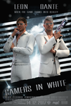 Gamers in white by Taitiii