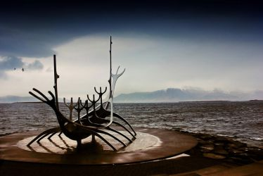 Reykjavik Shoreline 2: Solfar - The Sun Voyager by Coigach