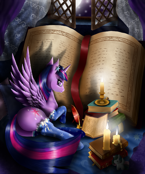 Mysterious Book by Szafir87