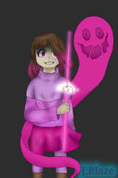 The soul of Fear ~ Glitchtale by Jay-Blaze