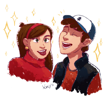 Mystery Twins by yencys