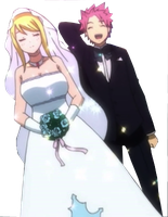 Natsu and Lucy : 3 [marriage] by HinamoriMomo21