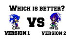 Which one is better? by JaseTheHedgehog16