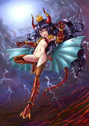 Asmodeus Lady Of Lust by ADSouto