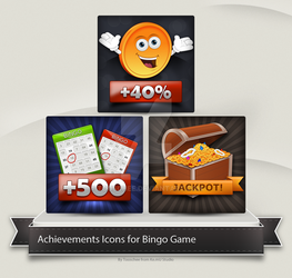 Bingo game Achievements by Tooschee