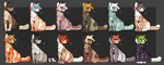 Canine Adoptions (7/12 Open) by HimeAdoptions